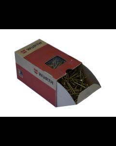 4 X 60MM SCREWS - BOX OF 250