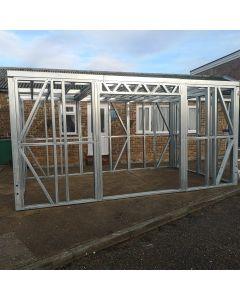 steel frame garden building  2.6M X 3.8M
