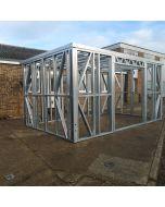 Steel frame garden building 4.1M X 6.2M