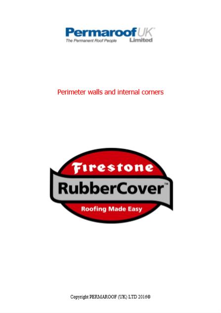 Handling Perimeter Walls and Internal Corners   Flat Roofing Downloads
