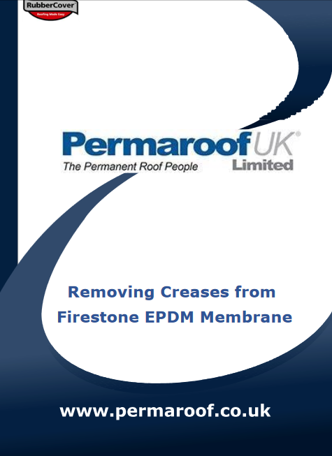 How to Remove Creases from Firestone EPDM Membrane